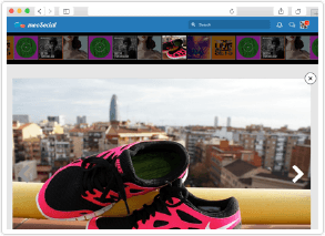 social network software photo slideshow