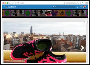 social network software photo slideshow