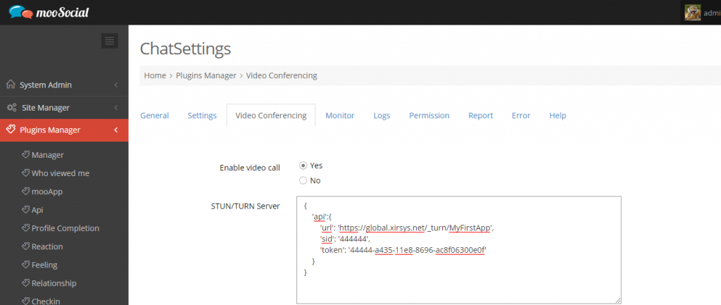 configure turn server